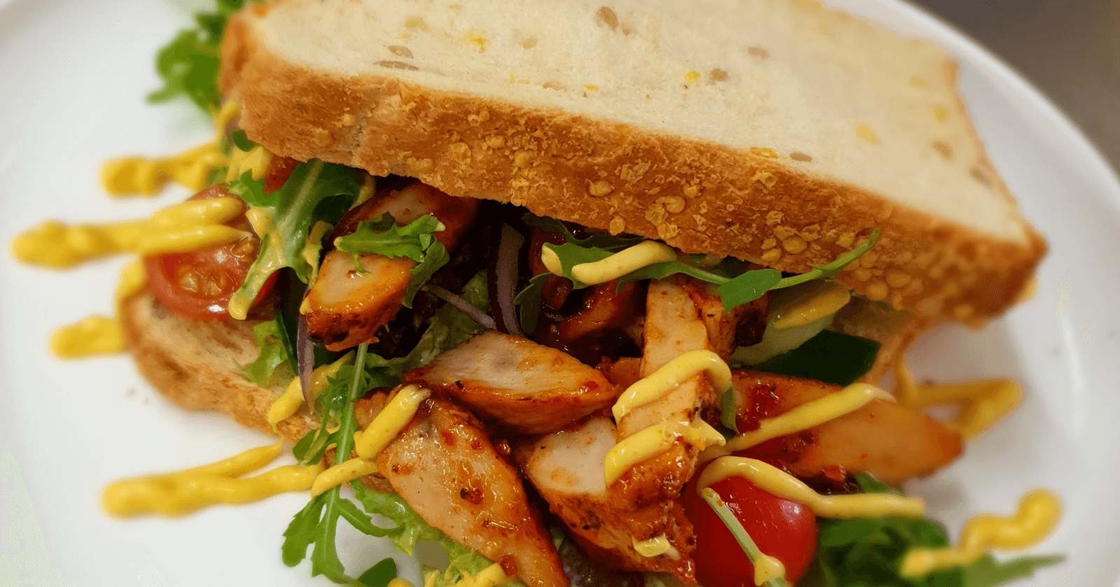 Luxe broodjes, maaltijdsalades Lunchkaart restaurant PEX Den Haag