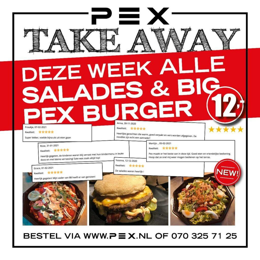 Weekdeal restaurant PEX